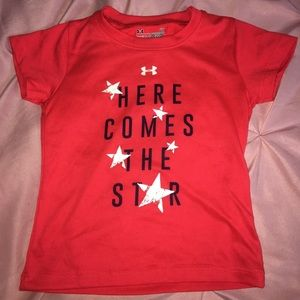 Here comes the star under armour T-shirt